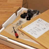 Putting Together Flat Pack Furniture