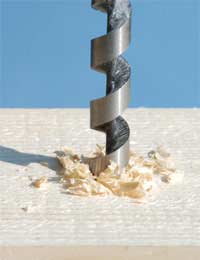 Drilling Wood and Other Materials