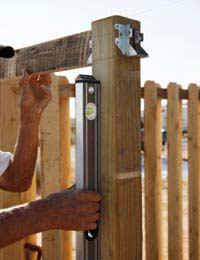 Putting up a Garden Fence