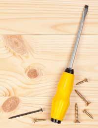 Odd Sized Screws and Screwdrivers